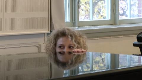 Candela inför Dansbandskampen i SVT