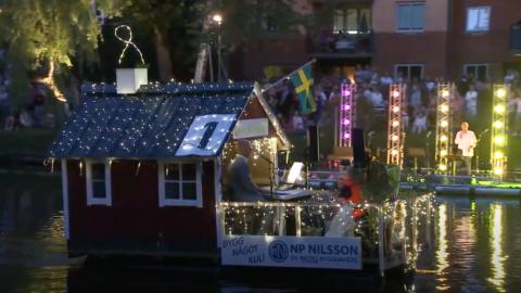Ljusfesten Ängelholm 2012