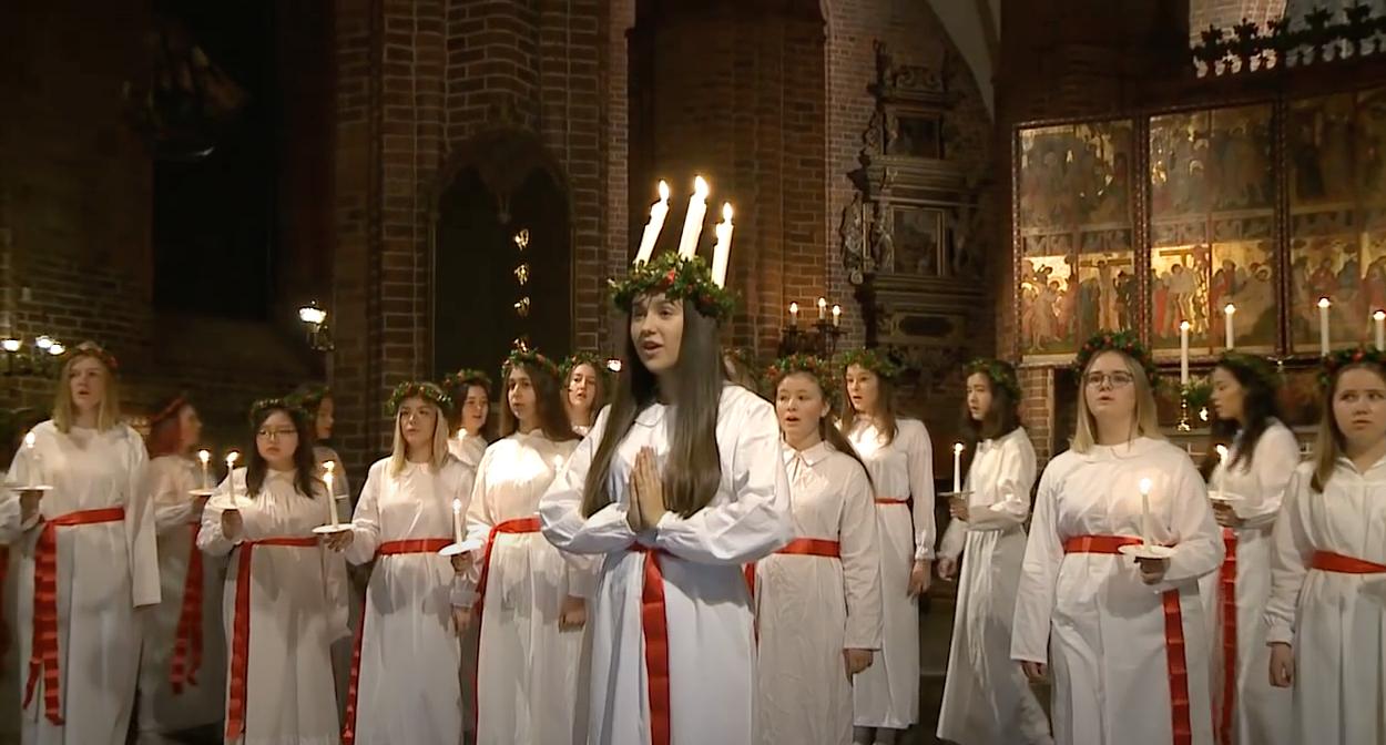 Lucia 2017 Mariakyrkan Helsingborg