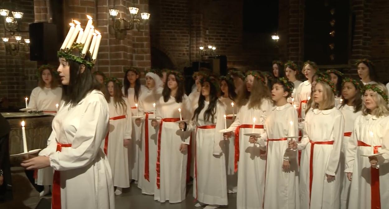 Lucia 2019 Mariakyrkan Helsingborg
