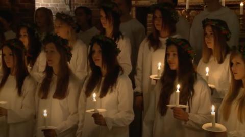 Lucia Mariakyrkan 2011
