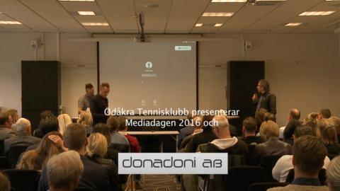 Mediadagen 2016 - Ljudproduktion
