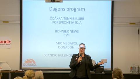 Mediadagen 2017 - Scandic Nord