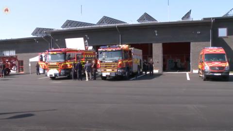 Räddningstjänsten Skåne Nordväst - Invigning av station City